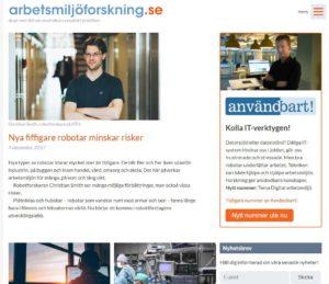 Arbetsmiljöforskning.se
