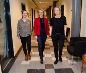 Mikaela Johansson, Åsa Lundkvist, Åsa Eriksson